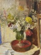 Цветы в вазе -  Сиго, Эдвард