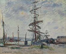Gustave Loiseau - Vessels in Port, 1912 - Луазо, Гюстав