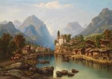 Пейзаж в Южном Тироле - Якель, Хенри