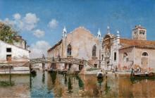 Церковь Санта-Мария-Вельверде - Кампо, Федерико дель