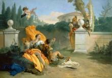 Ринальдо и Армида в саду - Тьеполо, Джованни Баттиста