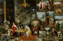 Аллегория зрения и обоняния - Брейгель, Ян (Старший)