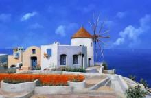 Мельница в Греции - Борелли, Гвидо (20 век)