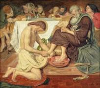 Омовение ног святого Петра II - Браун, Форд Мэдокс