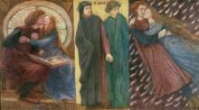 Паола и Франческа да Римини - Россетти, Данте Габриэль