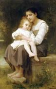 Старшая сестра - Бугро, Адольф Вильям