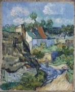 Дома в Овере (Houses in Auvers), 1890 - Гог, Винсент ван