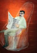 Портрет И.В. Сталина - Рублев, Георгий
