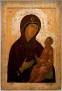 Богоматерь Одигитрия, ок.1397, 72х50 см, Третьяковская галерея
