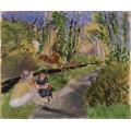 Пейзаж с двумя женщинами - Матисс, Анри