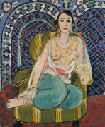 Одалиска в кресле - Матисс, Анри