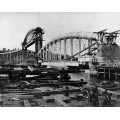 Строительство моста  в Англии