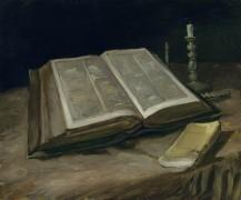 Натюрморт с библией (Still Life with Bible), 1885 - Гог, Винсент ван