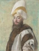 Портрет Великого Визиря - Лиотар, Жан-Этьен