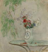 Кувшин с цветами - Лебаск, Анри