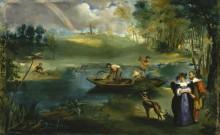 Рыбная ловля - Мане, Эдуард