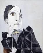 Дора Маар с зелеными ногтями - Пикассо, Пабло