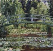 Японский мостик через пруд с кувшинками, Живерни - Моне, Клод