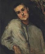 Портрет мужчины - Сезанн, Поль