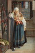 Женщина в национальном костюме - Цорн, Андерс