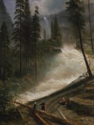 Невадский водопад, Йосемитский парк - Бирштадт, Альберт