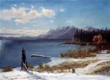 Озеро Тахо в зимнюю пору - Бирштадт, Альберт