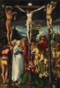 Распятие Христа - Кранах, Лукас Старший