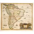 Античная карта Южной Америки