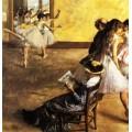 Балетный класс, танцевальный зал,1880 - Дега, Эдгар