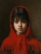 Девочка в красном капюшоне - Харламов, Алексей Алексеевич