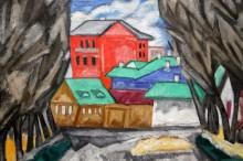 Красный дом, 1910 - Розанова, Ольга Владимирна