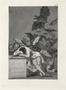 Капричос. «Сон разума рождает чудовищ» (Офорт) - Гойя, Франсиско Хосе де
