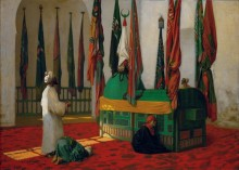Молитва в мавзолее султана Каюта - Жером, Жан-Леон
