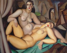 Две подруги - Лемпицка, Тамара