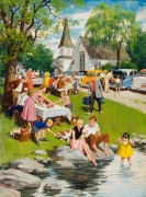 Пикник близ церкви - Сарноф, Артур