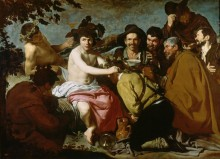 Триумф Вакха (Пьяницы) - Веласкес, Диего