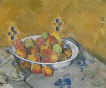 Тарелка с яблоками - Сезанн, Поль