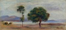 Пейзаж, 1905 - Ренуар, Пьер Огюст