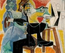 Рембрандт и Саския, 1963 - Пикассо, Пабло