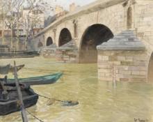 Мост Мари, Париж, 1893 - Таулов, Фриц