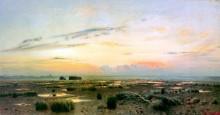Вечер над болотом. 1882 - Левитан, Исаак Ильич