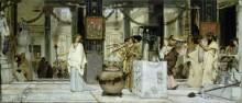 Праздник в античности - Альма-Тадема, Лоуренс