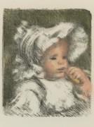 Ребенок с бисквитом - Ренуар, Пьер Огюст