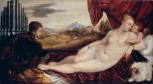 Венера и органист - Тициан Вечеллио