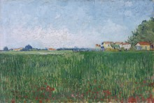 Поле с маками (Field with Poppies), 1888 - Гог, Винсент ван