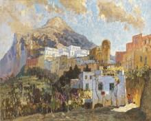 Пейзаж на Капри - Горбатов, Константин
