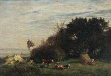Ферма в Сен-Симеоне - Буден, Эжен