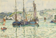 Три лодки - Синьяк, Поль