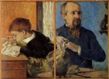 Скульптор и его сын, 1882 - Гоген, Поль