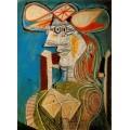 Сидящая женщина, 1938 - Пикассо, Пабло